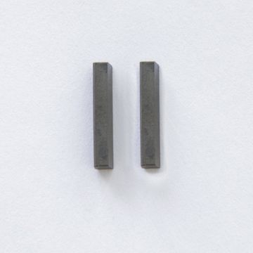 Picture of PRECISION GROUND CARBIDE - 3MM X 18MM 80 DEG RELIEF